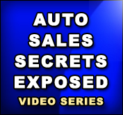 Auto Sales Secrets Exposed Coupon Code - Saves You 50%